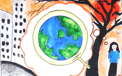 Key is a green earth